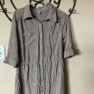3/$25 Willow & Clay cotton calico dress